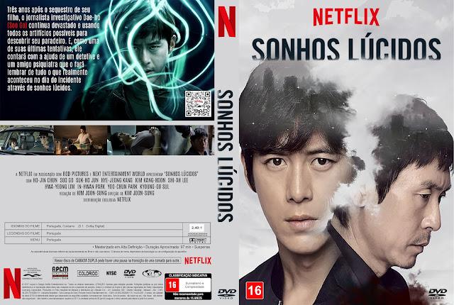 Capa DVD Sonhos Lúcidos [Custom]