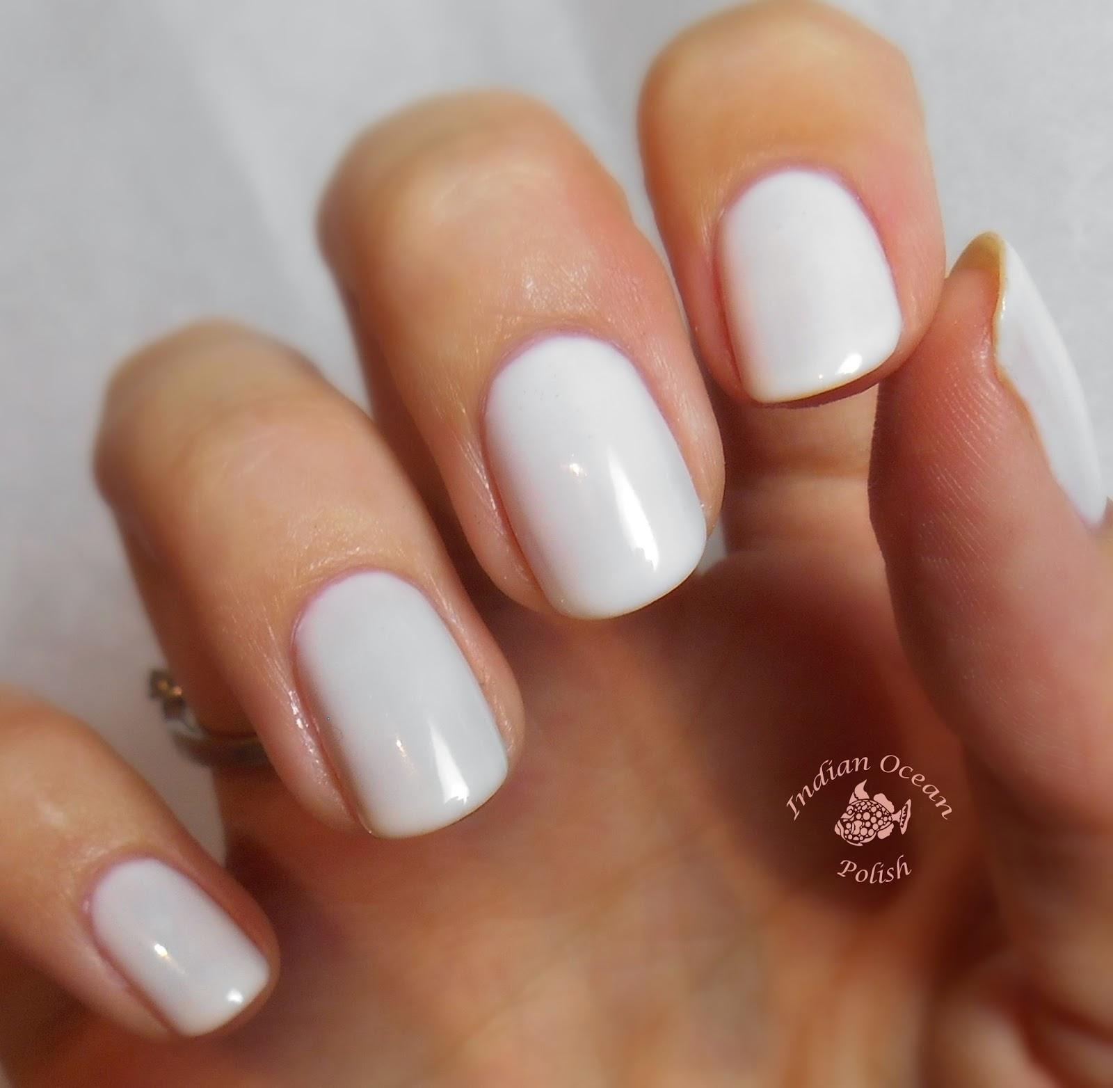 DeCoto Makeup: Funny Bunny Nail Polish - Perfect White ... |Funny Bunny Nails