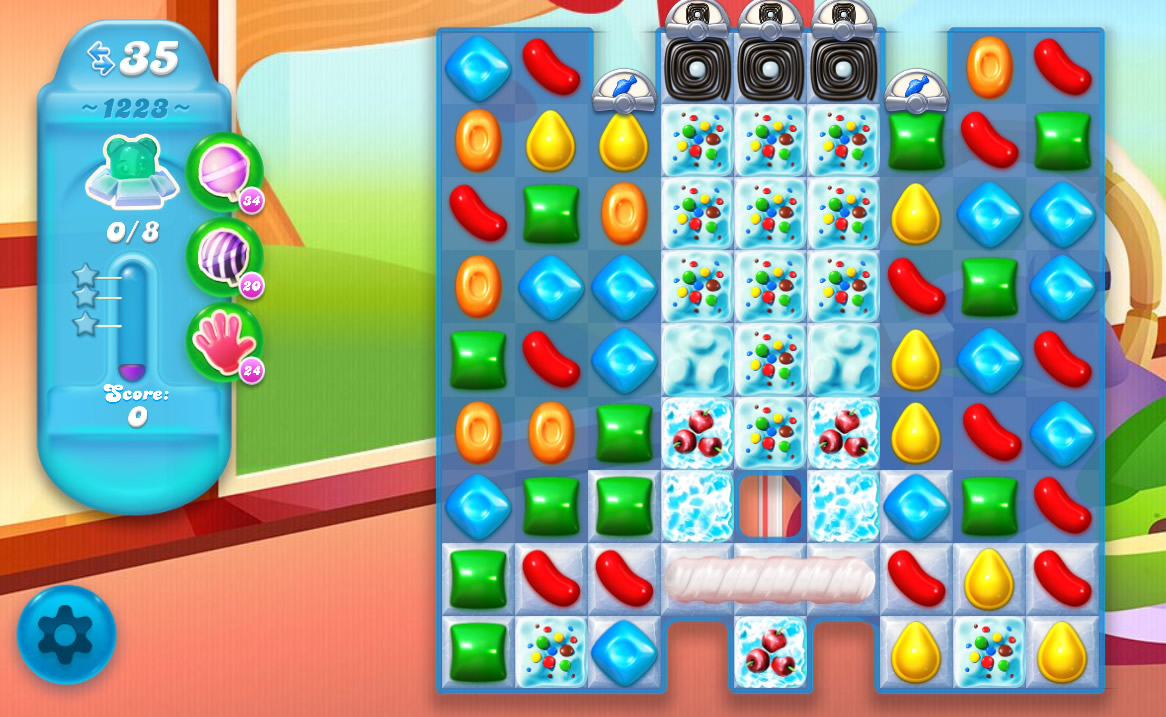 Candy Crush Soda Saga level 1223