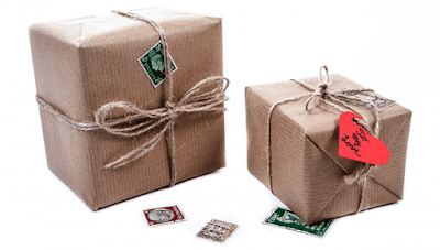 ilustrasi pengiriman barang ke kantor pos terdekat