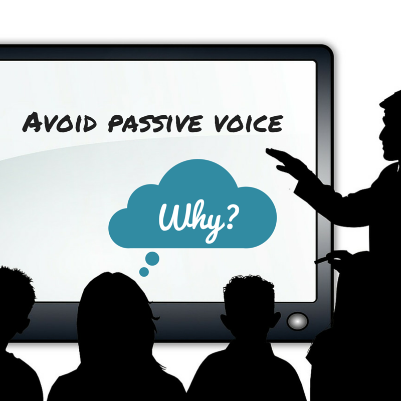 What's the Problem With Passive Voice?