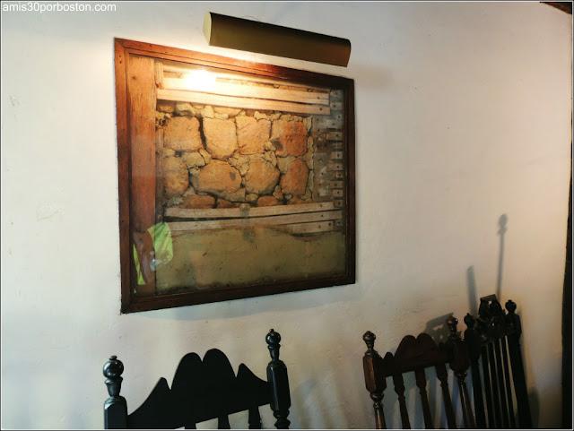 Interior de la Casa de las Brujas de Salem
