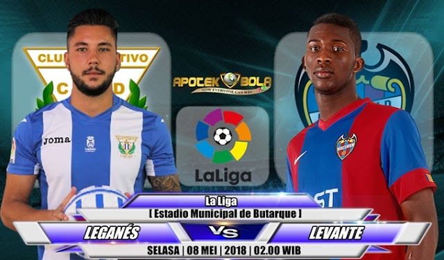 Prediksi Leganes vs Levante 08 Mei 2018