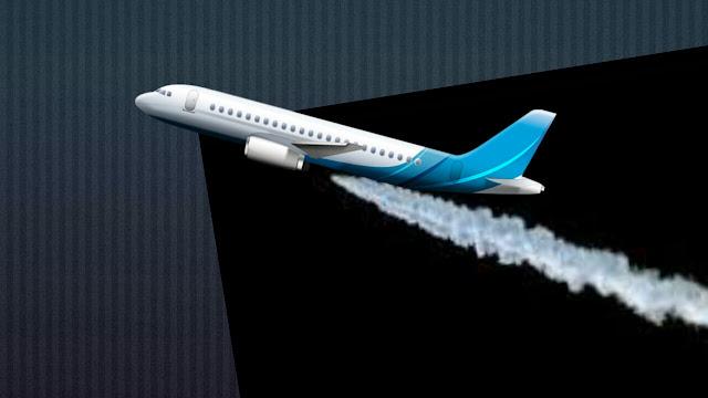 हवाई जहाज़ के गुज़रने के बाद, सफेद सी लकीर क्या होती है, बहुत कम लोग जानते है ?