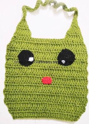 https://rajiscrafthobby.blogspot.com/2017/07/frog-baby-bib-animal.html