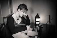 Ange Hardy folk singer composing