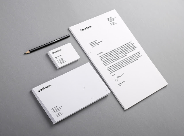 Branding Identity Mock-Up PSD