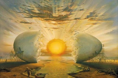 Η δημιουργία του κόσμου κατά την Παλαιά διαθήκη, κατά τον Ερμή τον Τρισμέγιστο, κατά τα Ορφικά και κατά τον Πελασγικό μύθο
