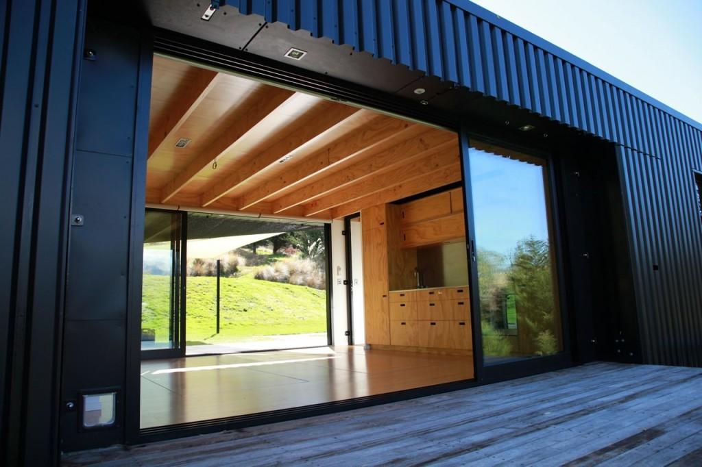 Steel Frame Transportable Prefab Home by Bachbox, New ... Steel Frame Homes Near Me