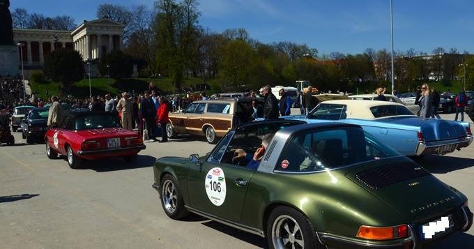 Porsche gruen offen foto helga waess