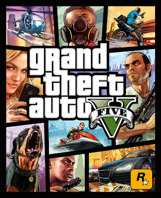 Grand Theft Audo V Box Art