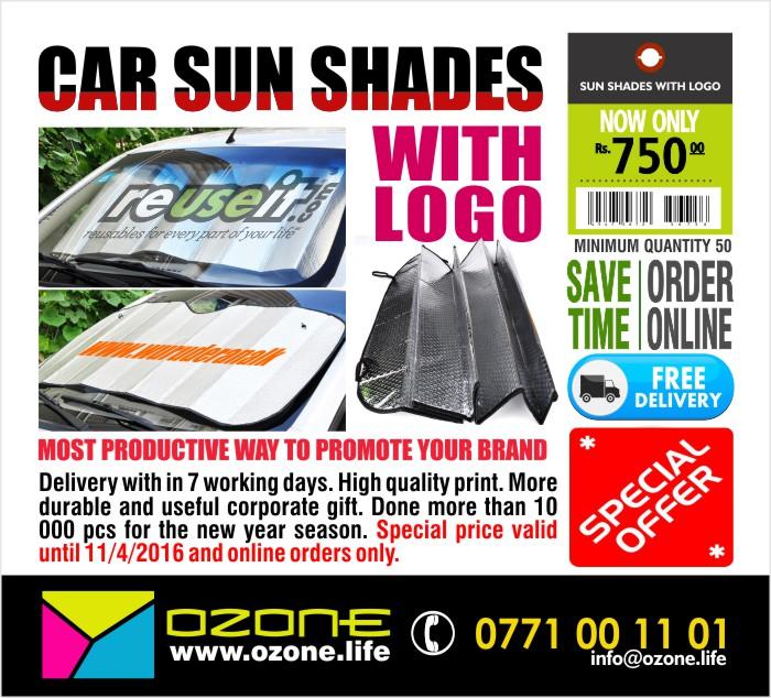 Car Sunshade Branding ( SPECIAL OFFER)