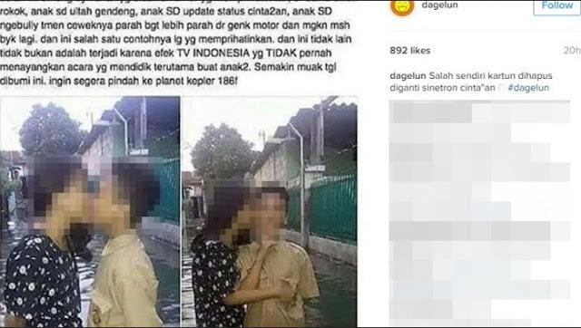 Foto-Foto Mirisnya Anak SD Zaman Sekarang sudah Berani Pacaran