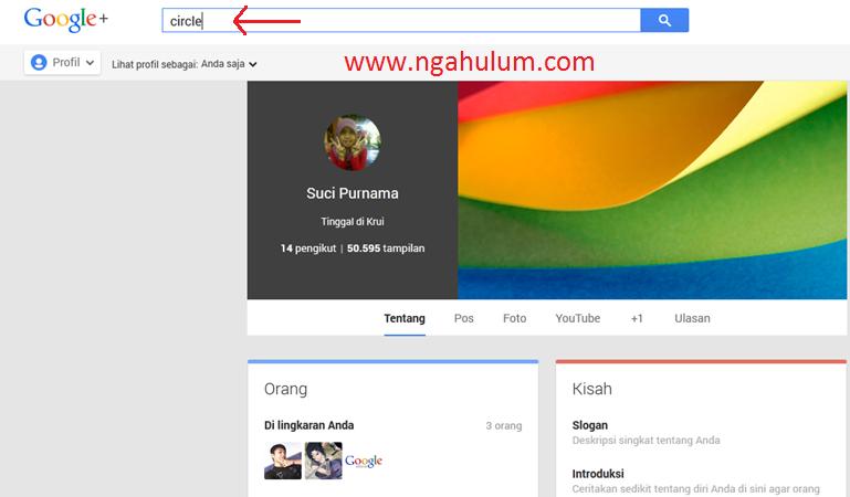Cara Cepat Memperbanyak Teman dan Circle di Google Plus