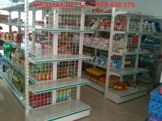 kệ siêu thị tại Cao Bằng