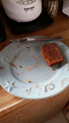Whole Grain Honey Sweetened Pumpkin Bread.