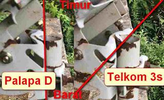Cara Tracking Ulang Orange Tv Palapa d ke Telkom 3s