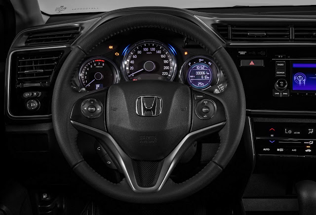 Honda City EX 2018 - interior