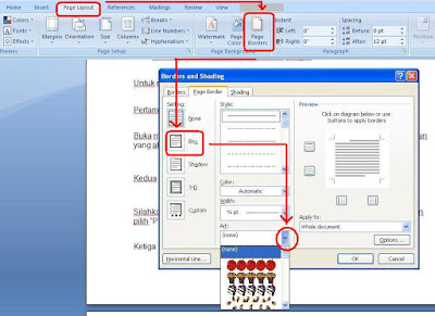 Cara Membuat Garis Di Microsoft Word 2007