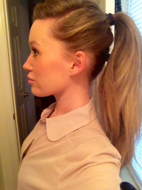 Amazing Deep Side Part Hair And High Ponytails On Pinterest Short Hairstyles Gunalazisus