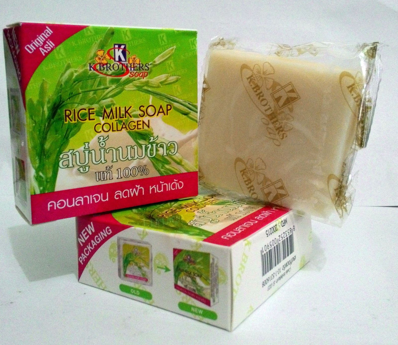 Aira Beautycare Sabun Beras Kolagen Susu Collagen