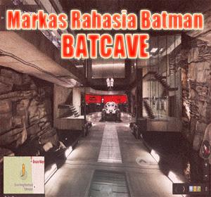 Seperti Apa Isi Markas Rahasia Batman (BatCave)? Jelajahi Keseruannya Dengan Google Maps