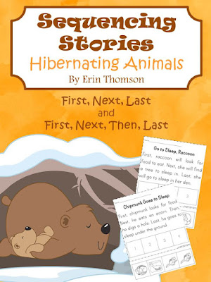 https://www.teacherspayteachers.com/Product/Sequencing-Stories-Hibernating-Animals-2232253