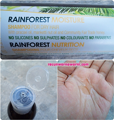 Rainforest Moisturezer