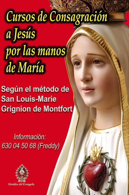 Cursos de Consagración a la Virgen