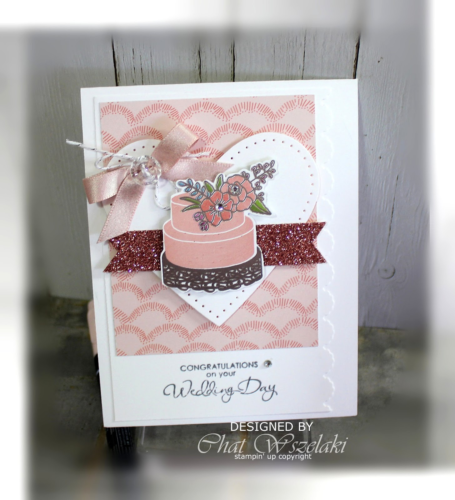 Me My Stamps And I Stampin Up Sweet Soiree Dsp