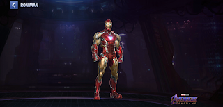 Uniform Iron Man