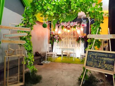 Dekorasi Tunangan Semarang Dari Daniico Wedding Planner & Organizer Semarang