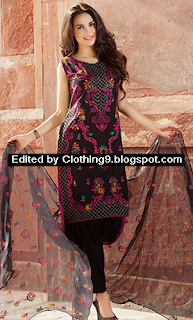 Luxury Embroidered Dress Collection 2015