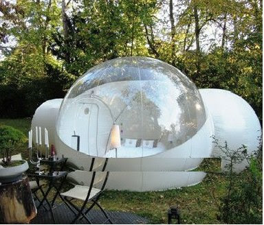 camping gear bubble