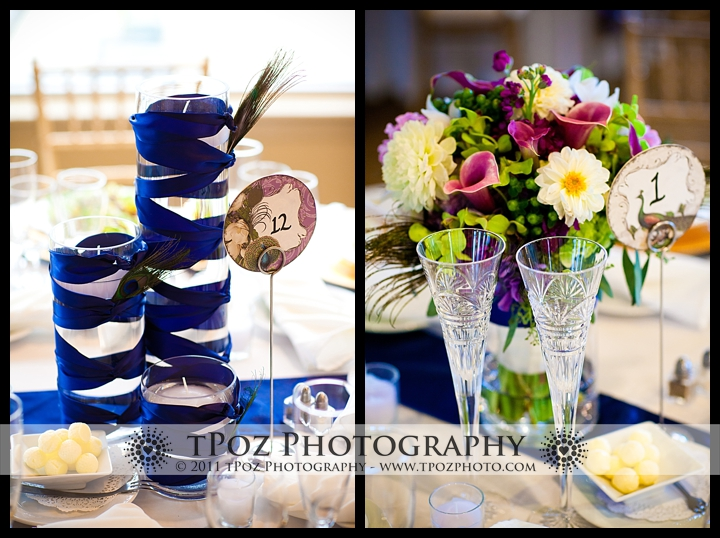 Tabrizi's wedding table setting