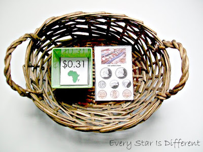 Buying Items from Africa Match Up Activity (Free Printable)
