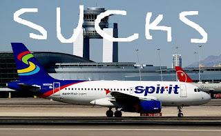 Image result for spirit airlines sucks