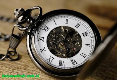 Belajar jam dalam bahasa arab
