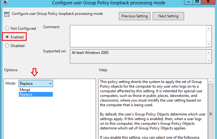 Techies Sphere: What is Group Policy Loopback Processing in