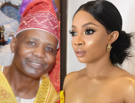 toke makinwa romance married oil billionaire