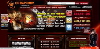COBAPK.COM AGEN POKER | POKER ONLINE | BANDAR QQ | DEWA POKER TERPERCAYA TERBARU TERBAIK 2017 DI INDONESIA