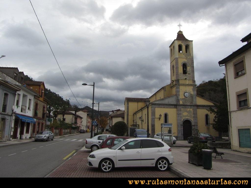Ruta Olloniego Escobín: Iglesia de Olloniego