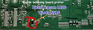 Cara Servis Board Epson L100 dan L200