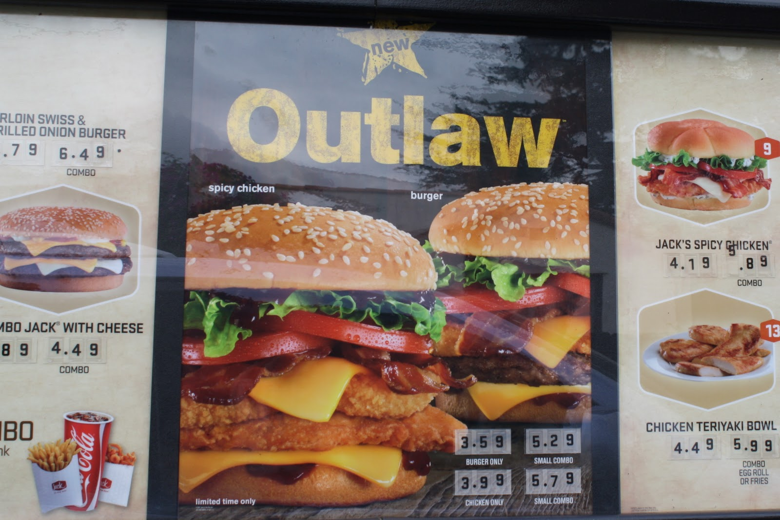 Fast Food Review Jack In The Box OutlawTM Spicy Chicken Sandwich