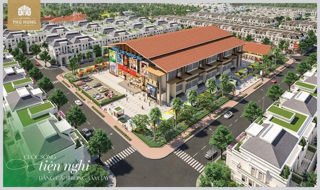 Trung tâm thương mại Thiên Kim tại dự án đất nền Cát Tường Phú Hưng