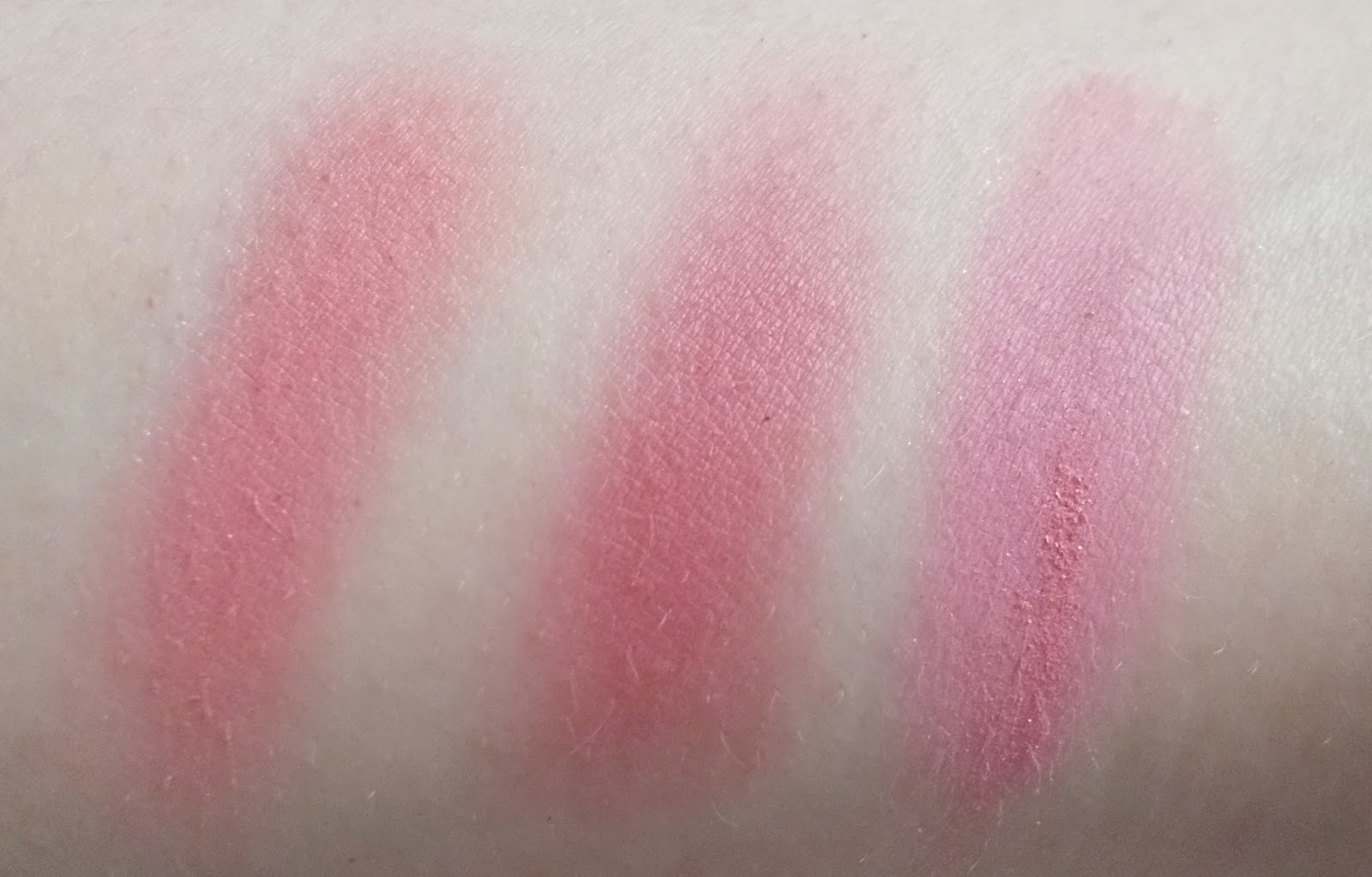 too faced love flush blushes love hangover your love is king justify my love swatches