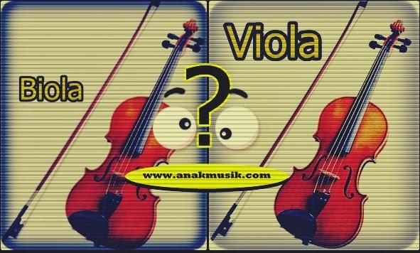 3 Perbedaan Biola Dan Viola
