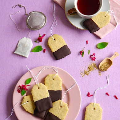 Earl Grey Tea Bag Cookies Recipe