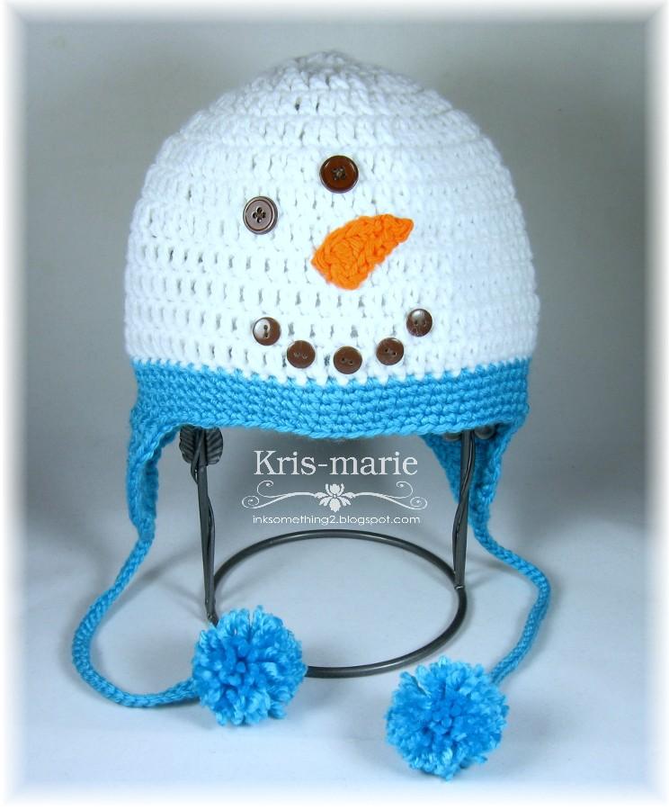 The Crafting Secretary  Crochet Penguin   Snowman Hats dddf85f75b1c