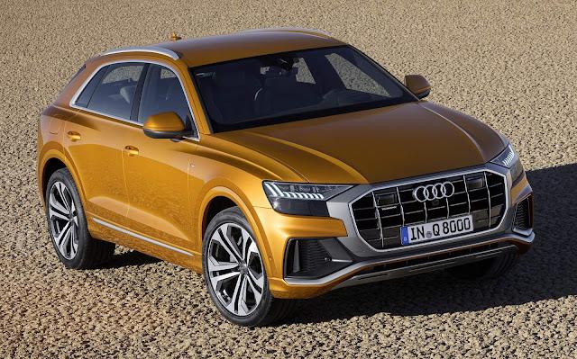 Novo Audi Q8 2019